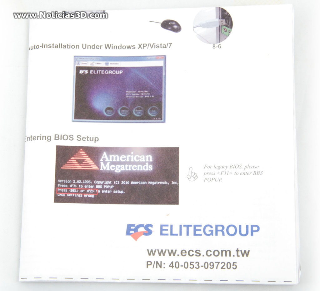 Primer Contacto Ecs A990fxm A