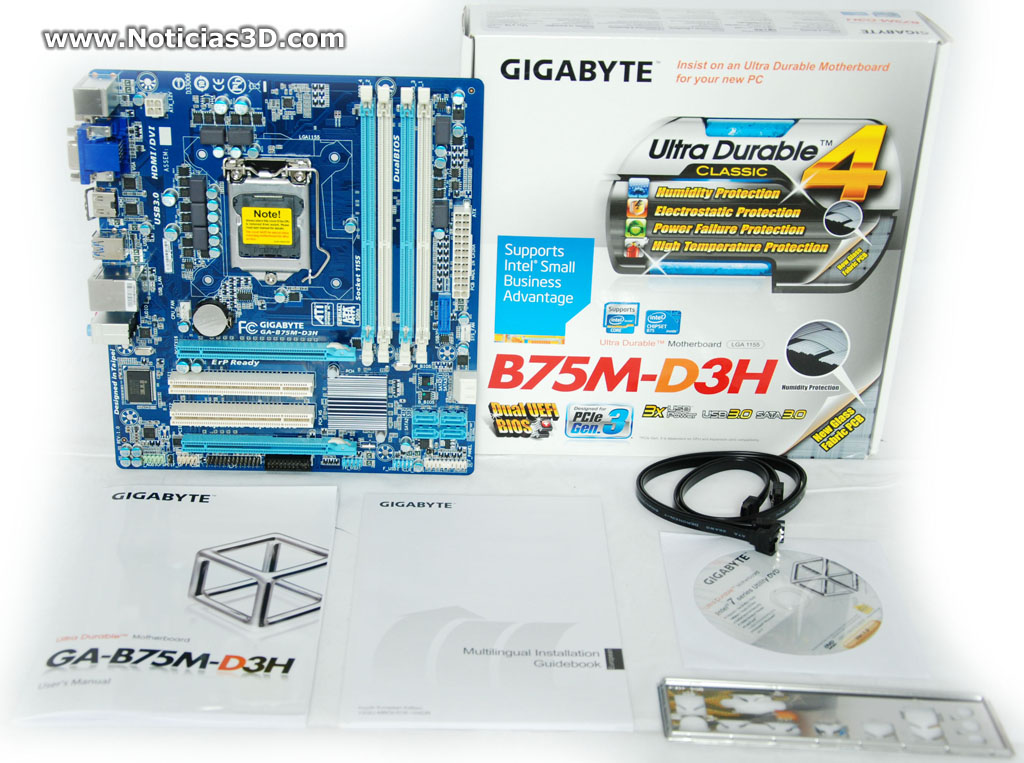 Primer Contacto  Gigabyte B75m