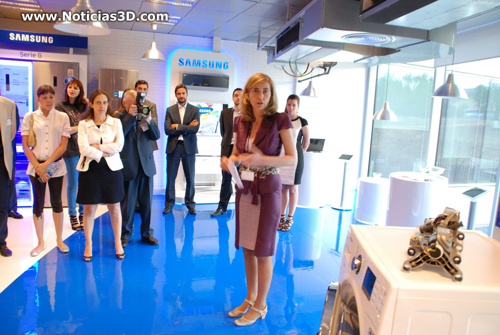Noticias3d asistimos al evento samsung home appliances for Oficina yoigo alcobendas