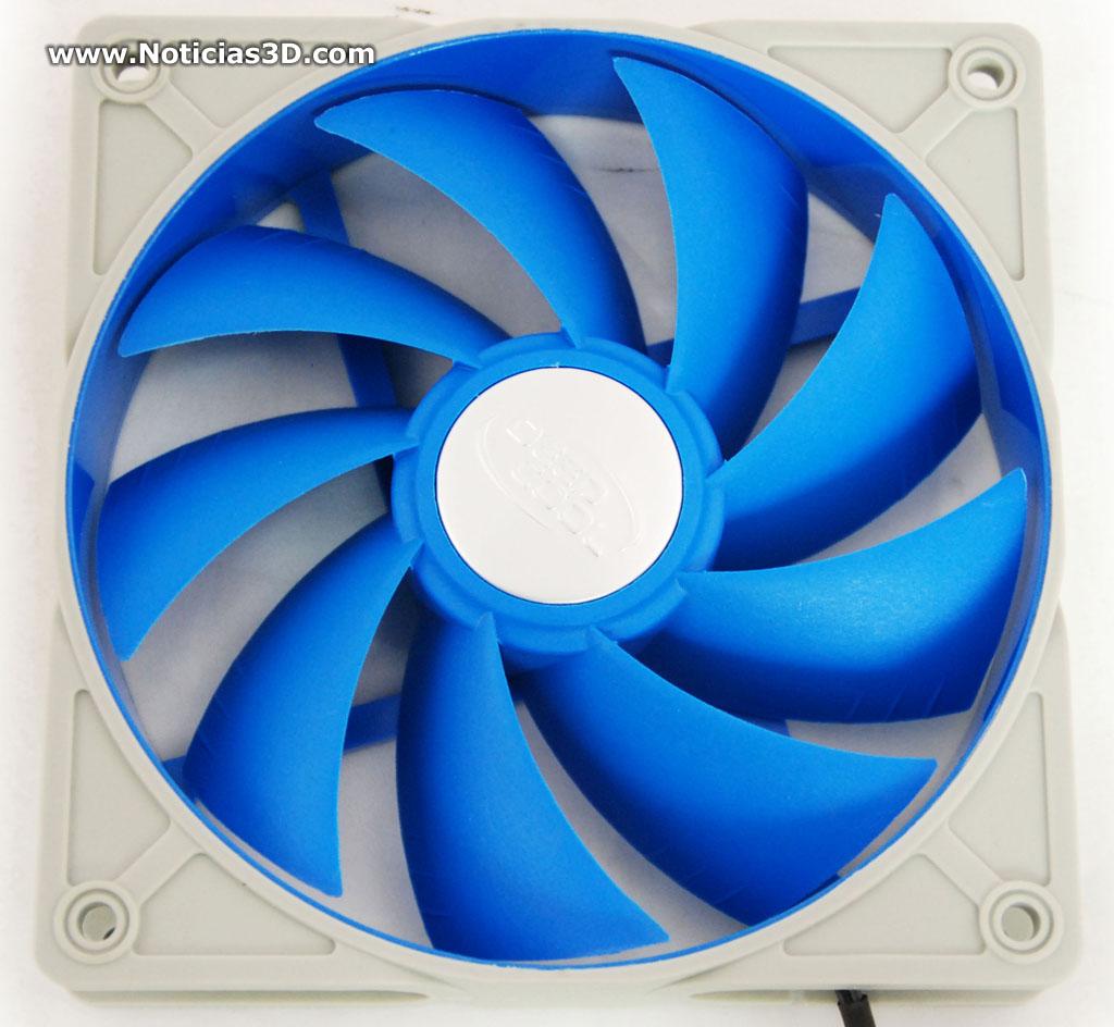 Noticias3d mini an lisis 2 ventiladores para caja deepcool for Aspas para ventiladores
