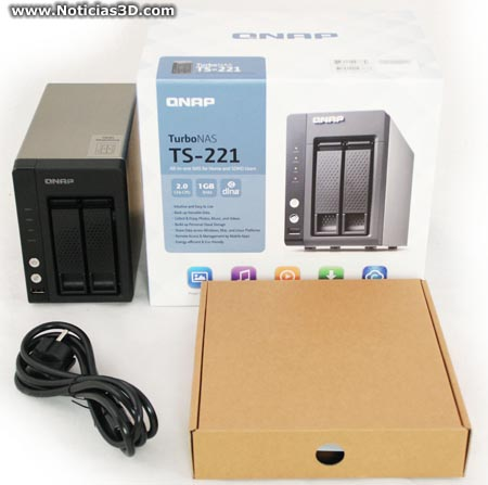 QNAP TS-221 Turbo NAS QTS Driver for PC