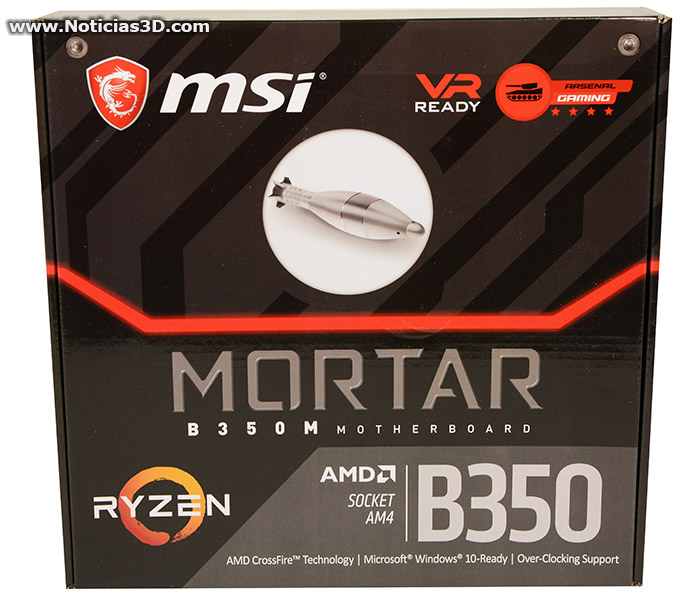 MSI Mortar B350M