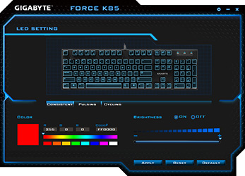 GIGABYTE Force K85 RGB