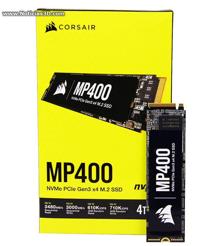 Corsair MP400 4TB
