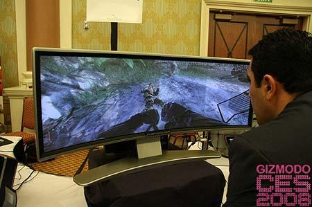 Monitor Curvado De Alienware
