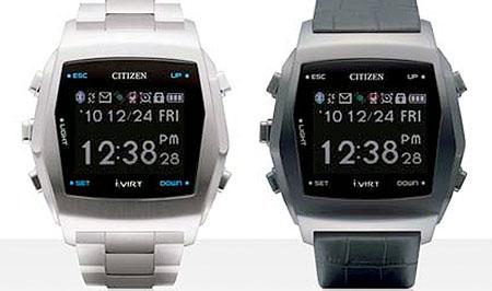 Relojes Citizen que te vinculan al móvil por Bluetooth