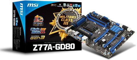 MSI Z77A-GD80 THX TruStudio PRO Update