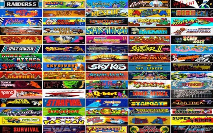 Un Portal De Acceso A 900 Juegos Clasicos De Arcade