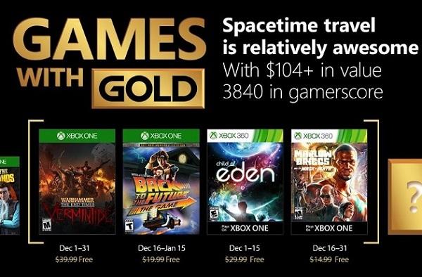 Estos Son Los Juegos Gratis De Games With Gold Para Diciembre