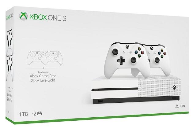 Xbox One S Barata Para 2019 Sin Lector De Discos