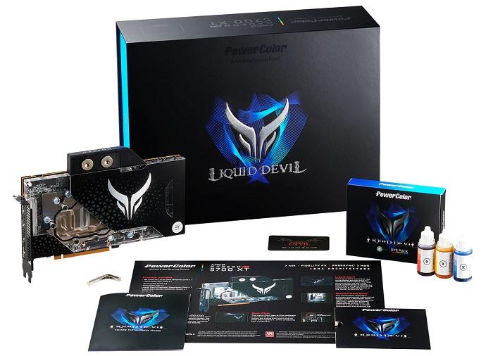 Confirmada fecha de lanzamiento y precio de la PowerColor RX5700 XT Liquid Devil